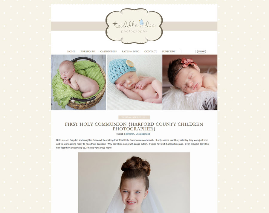 TWIDDLE DEE PHOTOGRAPHY�- CLIENT DESIGN FEATURE � Corina Nielsen ...