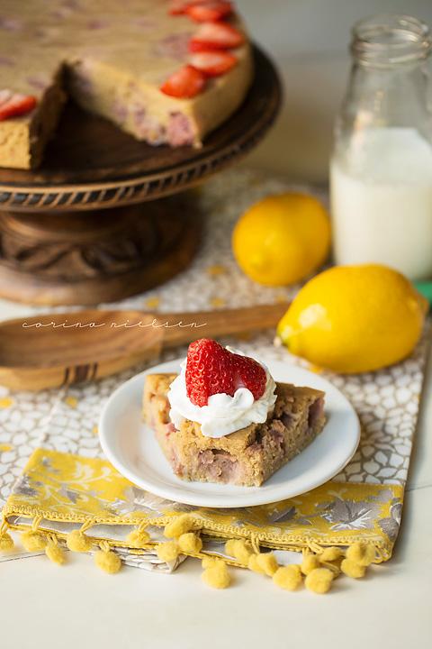 Corina Nielsen- Strawberry Yogurt Cake-1