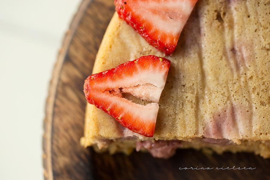 Corina Nielsen- Strawberry Yogurt Cake-4