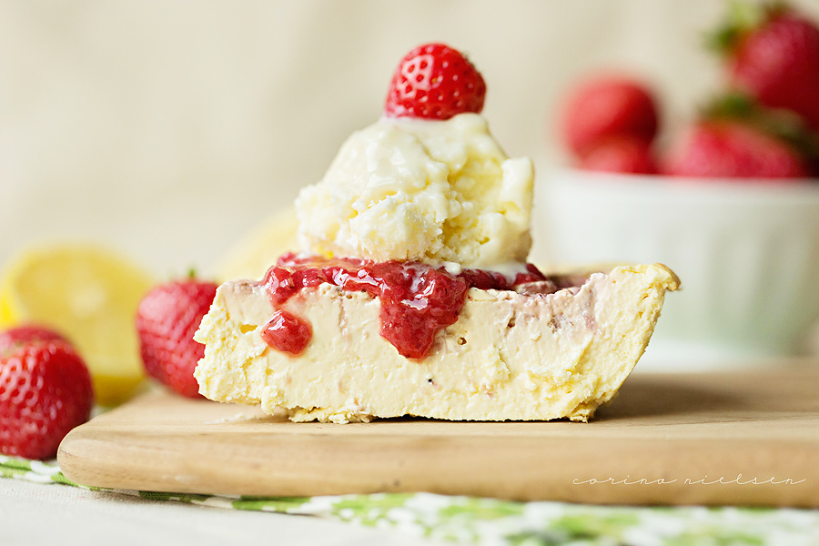 Corina Nielsen- Strawberry Lemonade Cheesecake-2