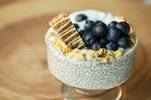 Simple High Protein Chia Seed Pudding