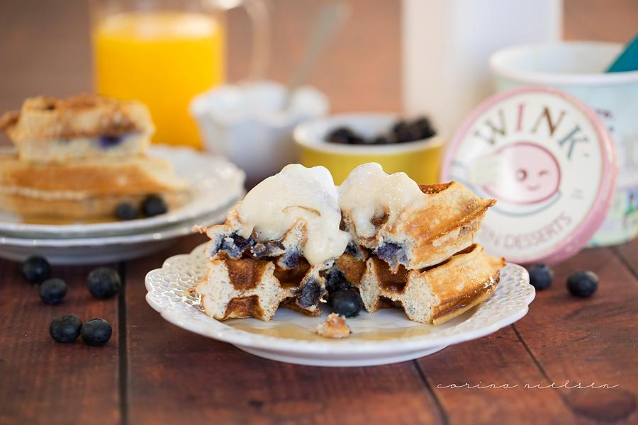 Corina Nielsen- Blueberry Cake Batter Waffles-4