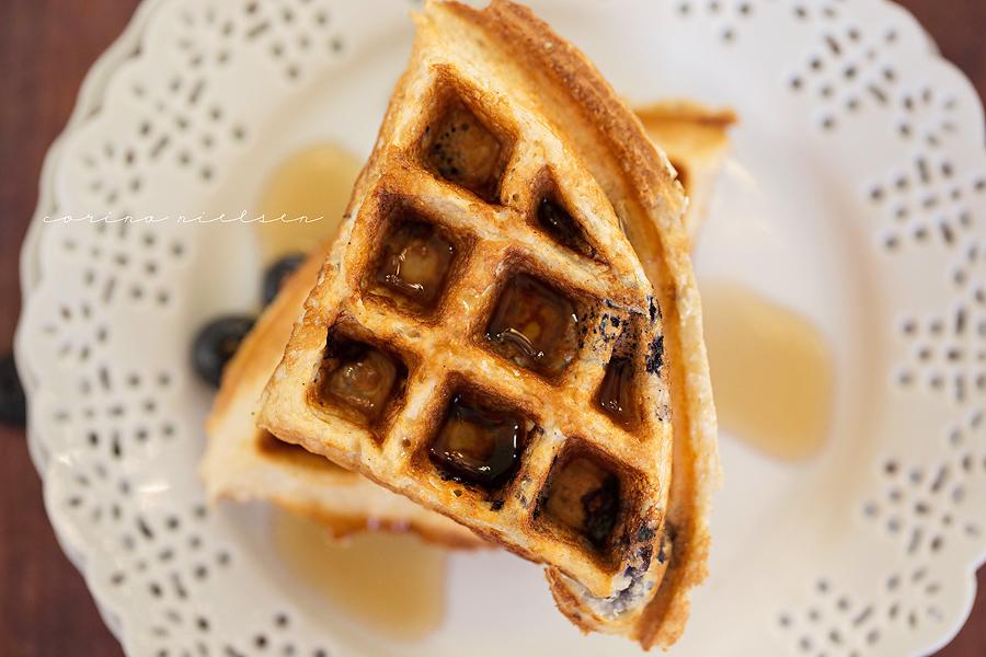 Corina Nielsen- Blueberry Cake Batter Waffles-5