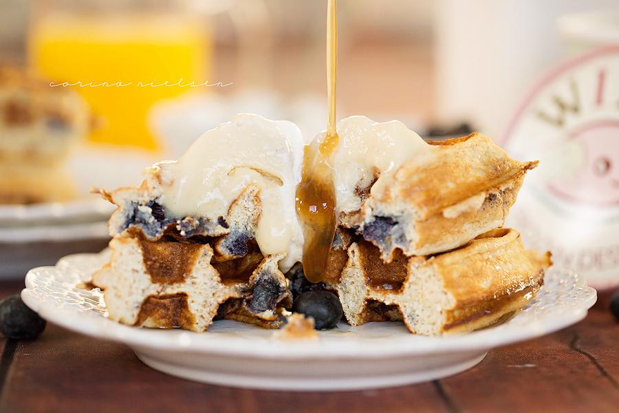 Corina Nielsen- Blueberry Cake Batter Waffles-6