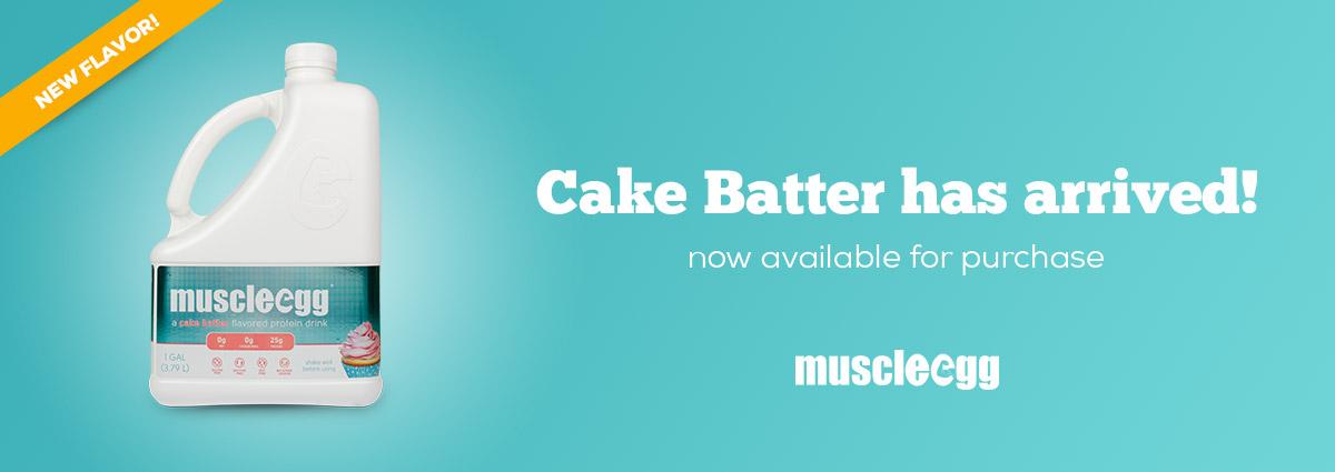 MuscleEgg- cakebatter