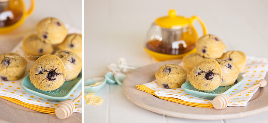 Corina Nielsen- Blueberry Cornbread Muffins-3