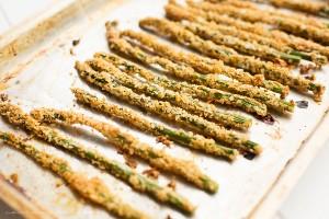 BBQ Quest Breaded Asparagus