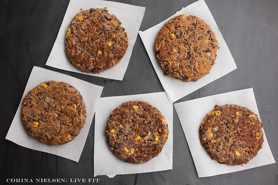 Corina Nielsen- Black Bean Burgers-1