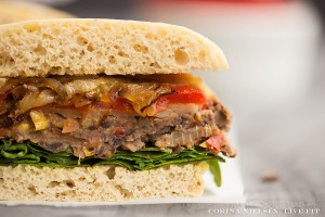 Southwest Black Bean Veggie Burgers