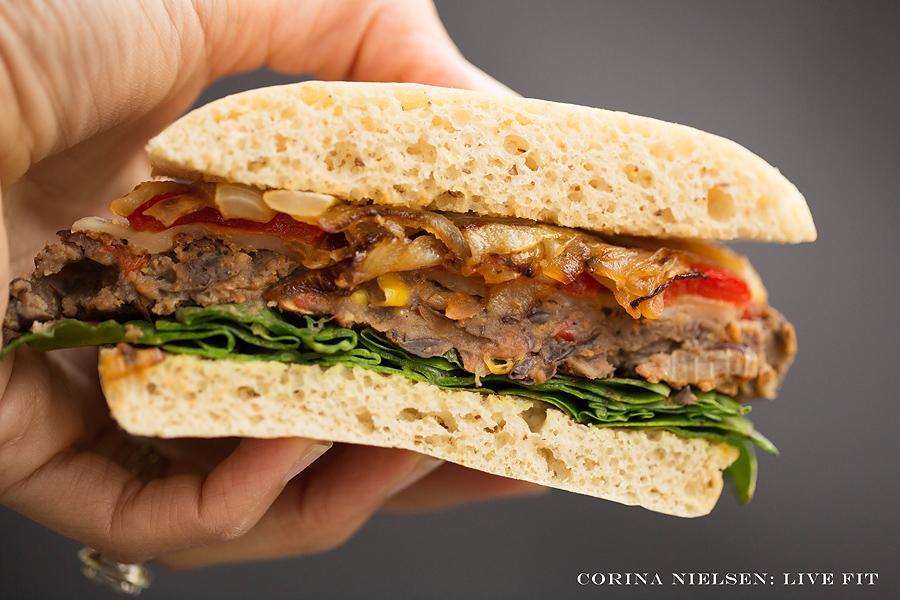 Corina Nielsen- Black Bean Burgers-7