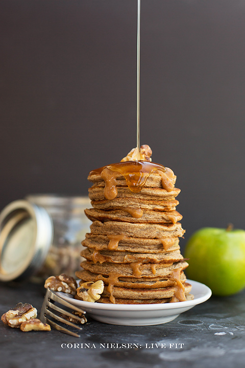 Corina Nielsen- Caramel Apple Pancakes-2