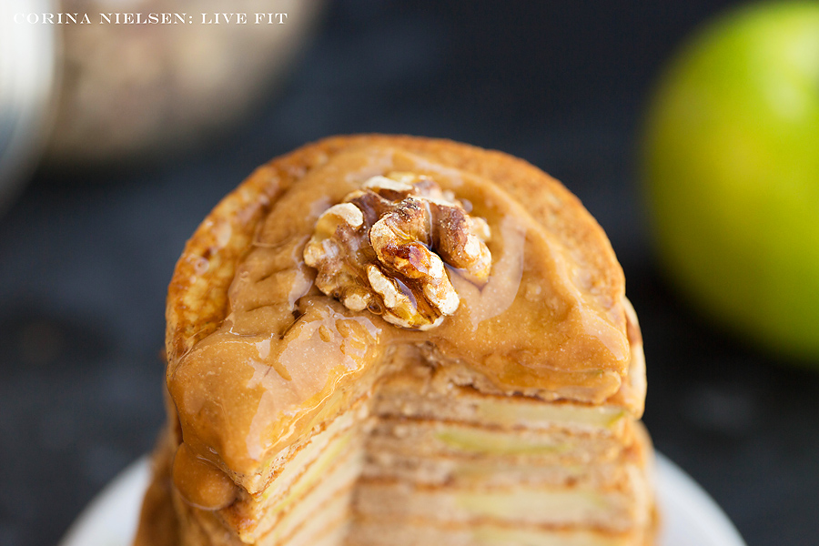 Corina Nielsen- Caramel Apple Pancakes-3