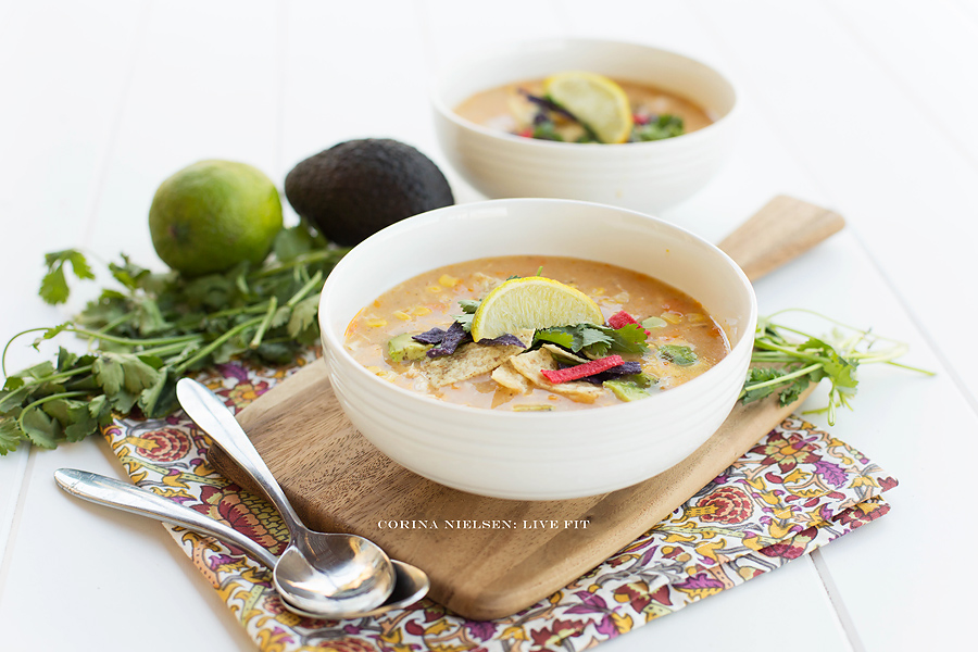 Corina Nielsen- Live Fit- Chicken Tortilla Soup-1