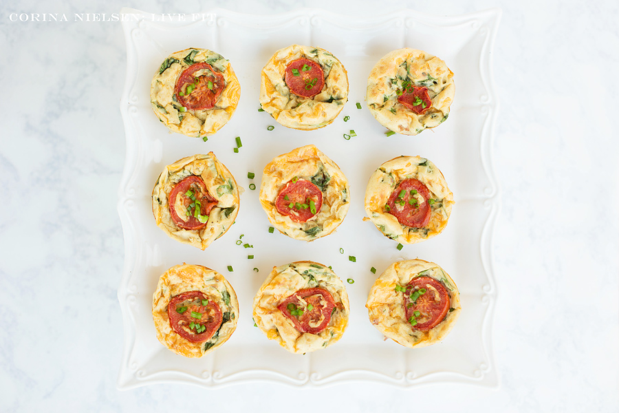 Corina Nielsen- Mini Quiches