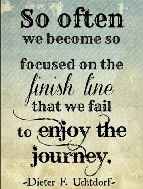 enjoy the journey
