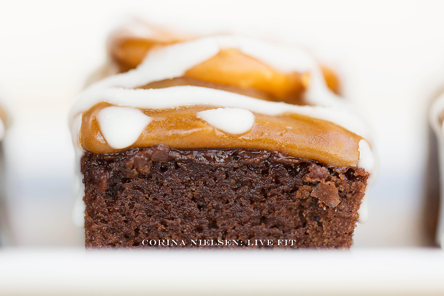 Corina Nielsen- Salted Caramel White Chocolate Brownies-4