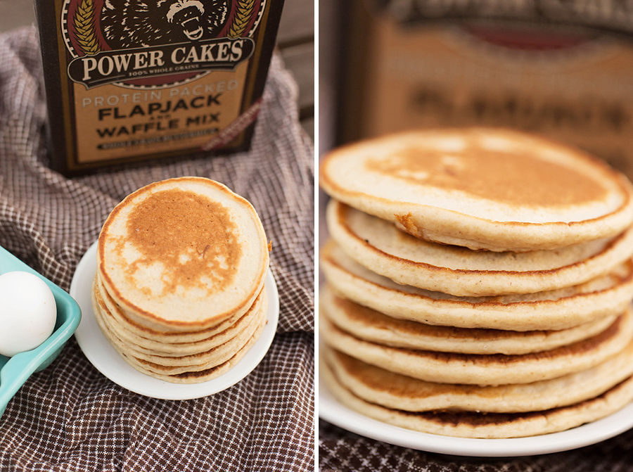 basic pancakes for meal prep