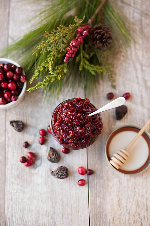 Cranberry Fig Chia Seed Jam