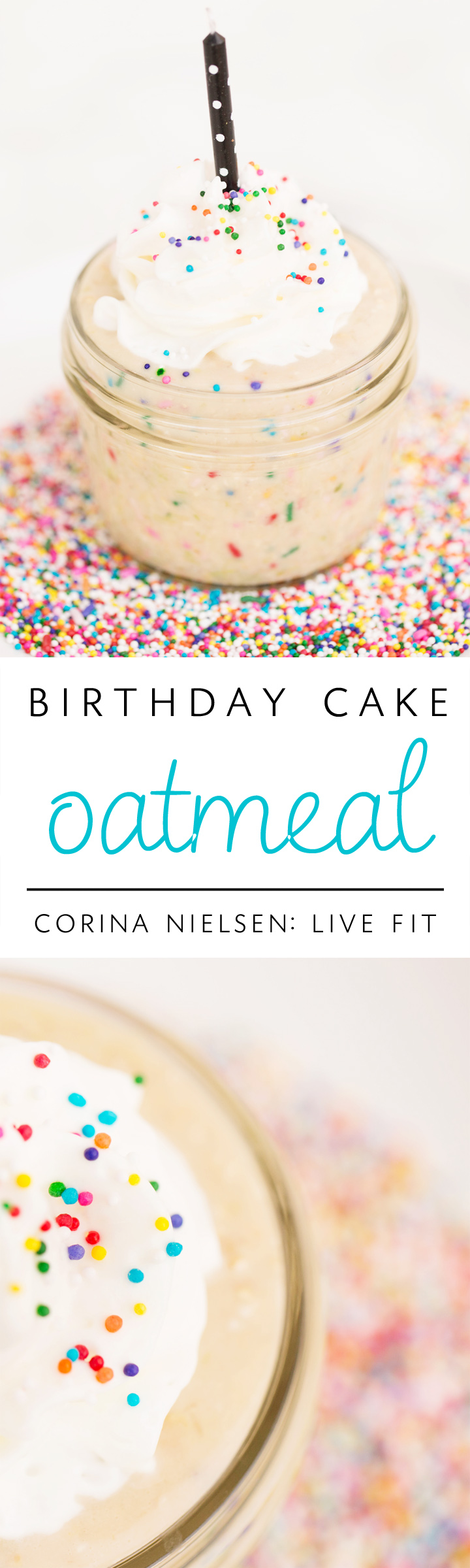 Cake Batter Oats Corina Nielsen Live Fit