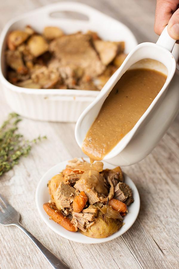Healthy Crockpot Pot Roast
