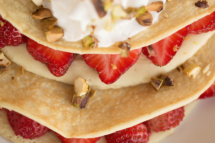 Strawberry Crepes: Corina Nielsen- Live Fit