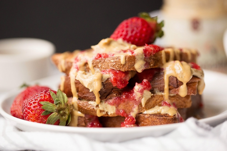 how to add protein to french toast