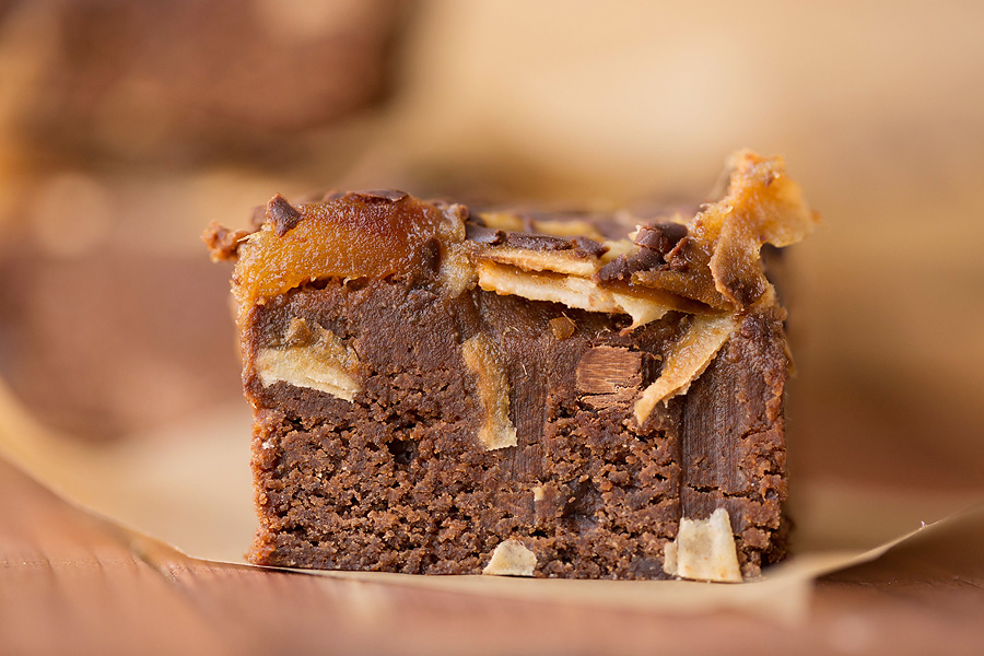 Healthy Samoa Brownies