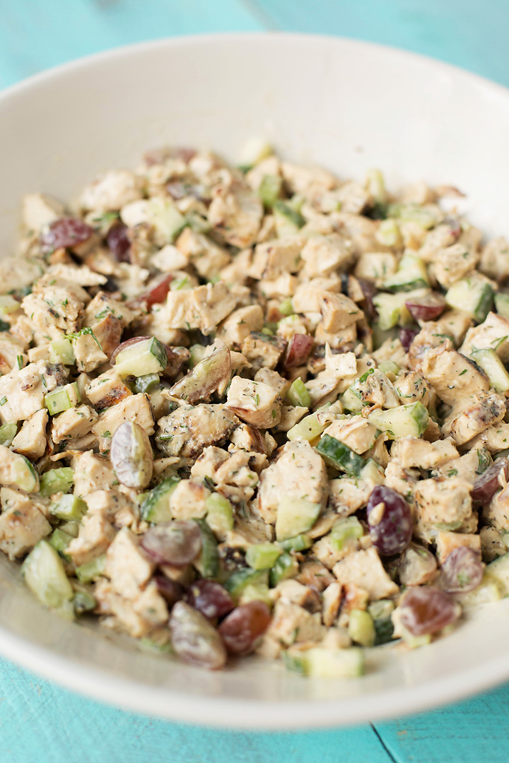 cucumber dill chicken salad 1