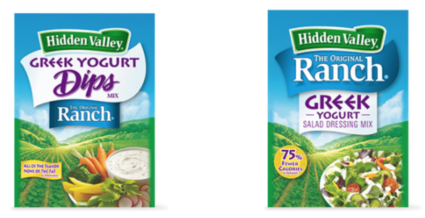 hidden valley dressing packs