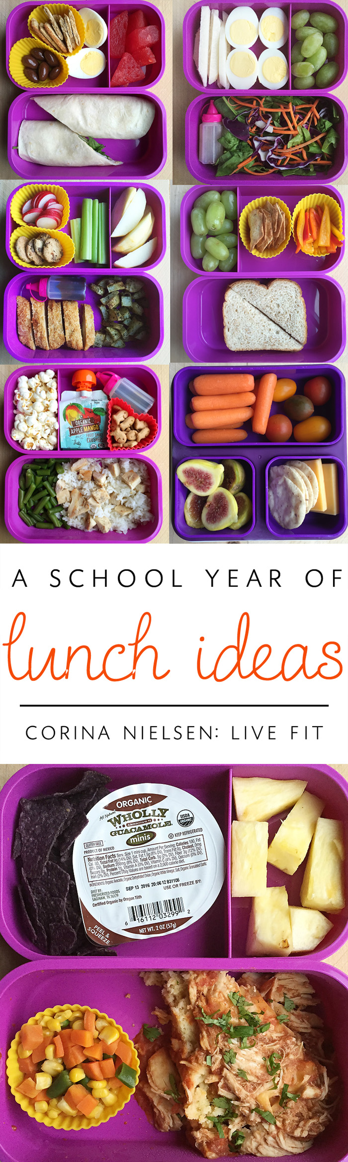 Live Fit Kids- Lunch Box Prep