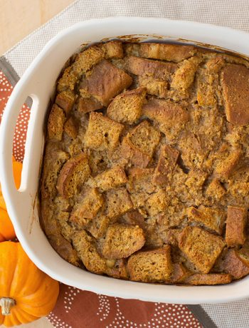 Gluten Free Pumpkin Spice Bread Pudding