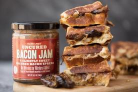 Fig & Bacon Jam Stuffed French Toast