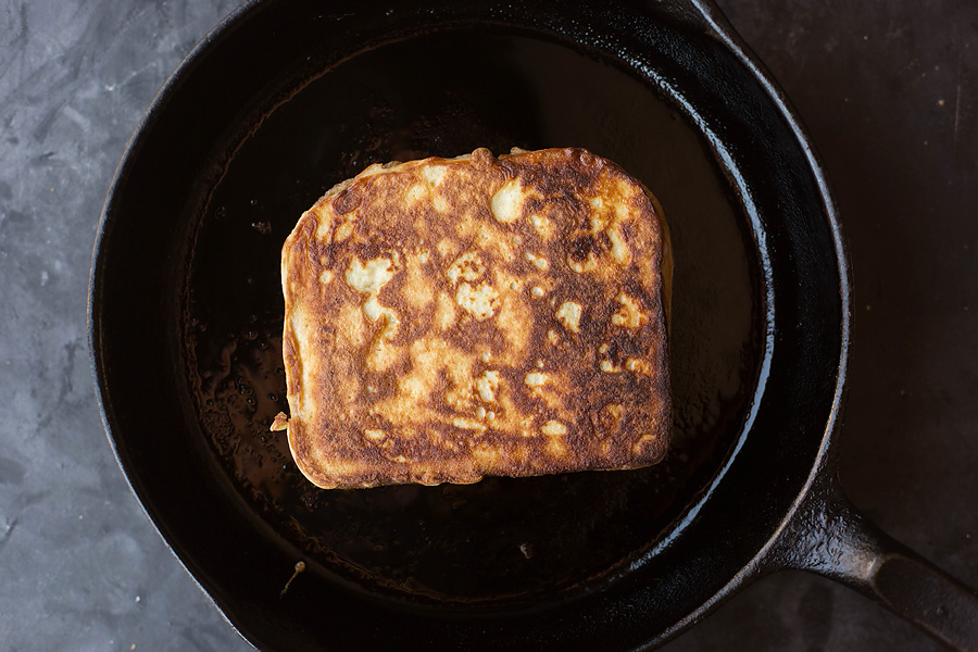 Fig & Bacon Jam Stuffed French Toast