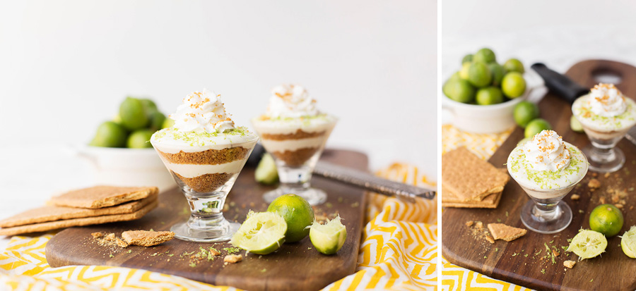 Key Lime Protein Parfaits