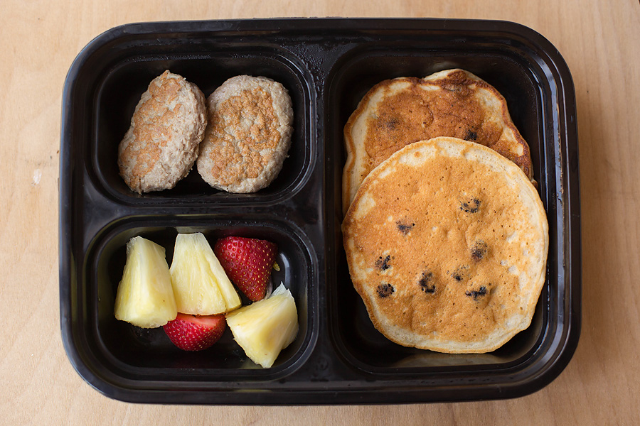 Gluten Free Lemon Blueberry Pancakes