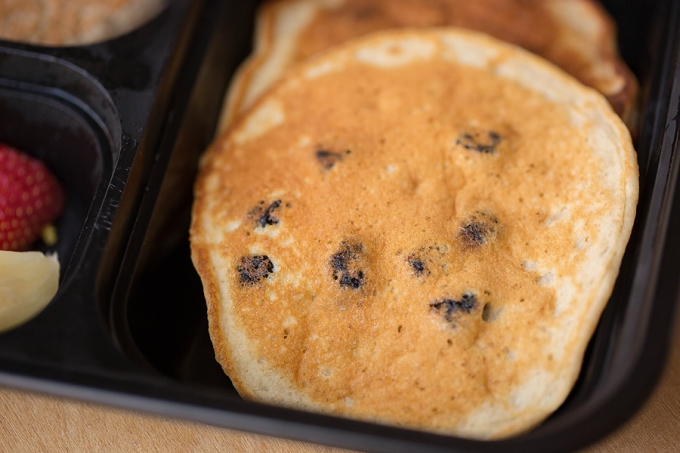 Gluten Free Lemon Blueberry Pancakes