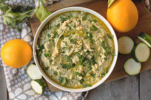 Garlic Zucchini Hummus