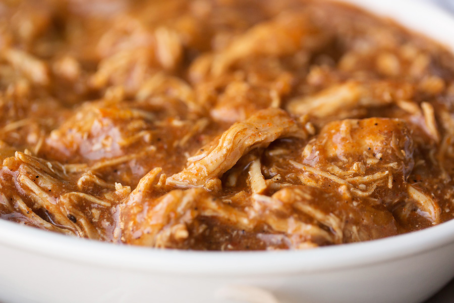 Instant Pot Shredded BBQ Chicken