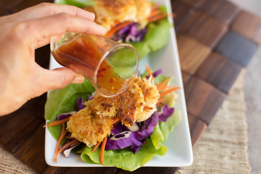 Grain Free Coconut Shrimp