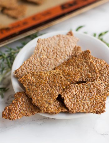 GARLIC AND ITALIAN HERB FLAX CRACKERS 3
